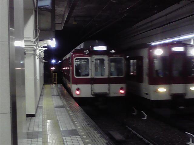 明日から阪神電車がここへ来る