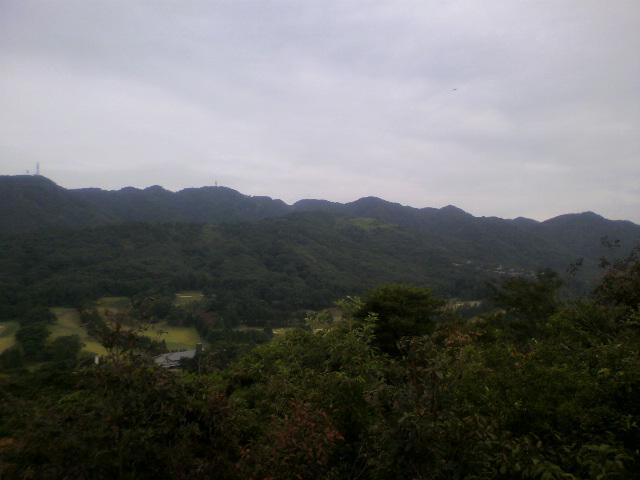 荒地山から東お多福山