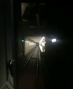 もうすぐ駅