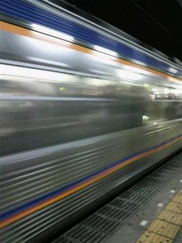 三国ヶ丘駅にて